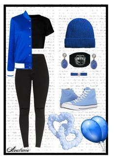 """""""Anastacia"""" by antonina71 on Polyvore featuring adidas Originals, MANGO, Dsquared2, Colleen B. Rosenblat and Converse"""