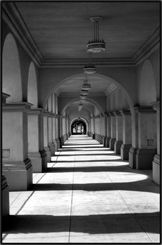Balboa Park, San Diego.    I have this thing for arches in photography.