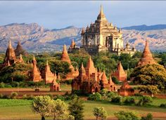 Bagan, Myanmar I want to see this place myself