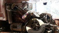 Camión sin frenos causo alarma en Week End