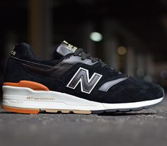 New Balance 997 – Black / Brown – White