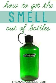 How to get the smell out of bottles