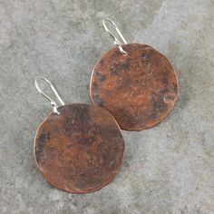 Your deep wealth of cultural taste will be showcased in these bohemian copper earrings.