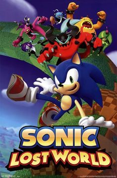 - Sonic - Lost World - art prints and posters