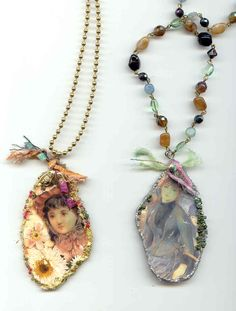 Just Lilla: Tutorial, jewelry from old Cds