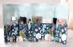Sewing tutorial: Placemat purse organizer