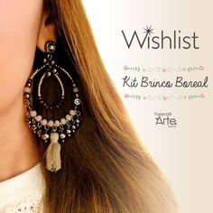 Nossos KITS tem montagem exclusiva, todos cuidadosamente elaborados pelas nossas designers! ❤ Monte seus próprios acessórios ou monte para revender e aumente sua renda! Atendimento de suporte via whatsapp! Frete PAC único para todo o Brasil ;) www.fazendoartebijuterias.com.br Dainty Earrings, Cuff Earrings, Rhinestone Earrings, Round Earrings, Bridal Earrings, Gemstone Earrings, Earrings Handmade, Bridesmaid Earrings, Jewelry