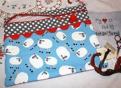 Cross stitch project bag Crazy Annies' Stitchin'