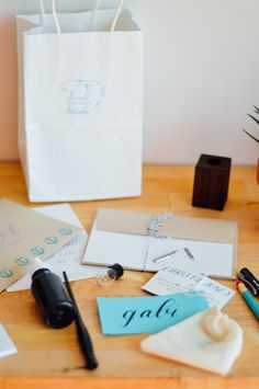 A Q&A with Christie Jones, owner of Swell Anchor Studio on creating calligraphy workshops / bygabriella.co