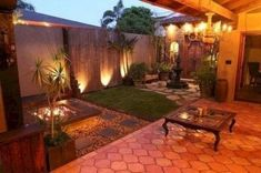 Ideas for small backyard patio landscaping Backyard Ideas For Small Yards, Small Backyard Design, Small Backyard Landscaping, Small Patio, Patio Design, Landscaping Ideas, Florida Landscaping, Patio Ideas, Acreage Landscaping