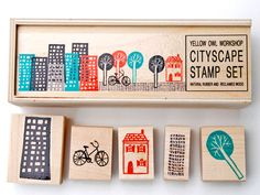 This is from Yellow Owl Workshop - many more cool stamp sets and other stuff too