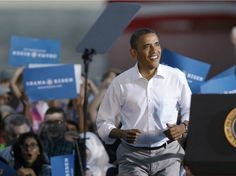 FIDDLING WHILE ROME BURNS: OBAMA ISN'T WORKING -- LITERALLY