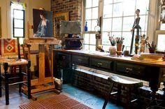 artist studios | Artists' Studios | Wanda Choate _DSC2080 – Southwest Art Magazine