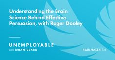 Are you a #marketer? Take a break and listen to some...persuasive thinking about #persuasion and the #brain! ;-)
