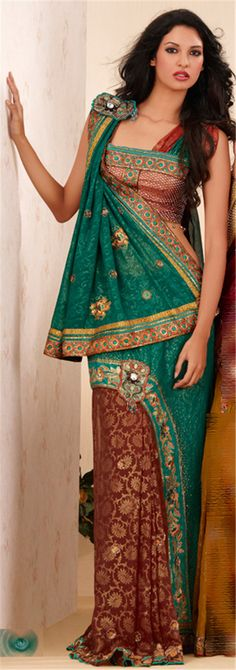 The Latest Trend - Party Wear Sarees