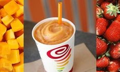 The Jamba Juice Mega Mango Smoothie was developed to provide the nutritional benefits of a mango-based smoothie but with a sweeter taste.