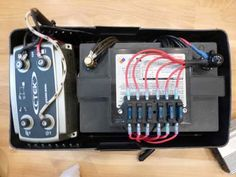 dual battery isolator set up