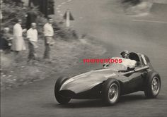 F1 German Grand Prix Nürburgring 1958 Tony Brooks Large Vintage Original Photo Grand Prix, F1, German, Racing, Vintage, Sports, Deutsch, German Language, Auto Racing