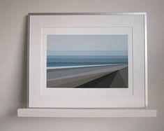 Claire-Julia Stokes on Etsy Framed Fabric, Framed Prints, Art Prints, Northumberland Coast, Windy Day, Coastal Art, South Island, Limited Edition Prints, East Coast
