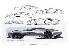 Mercedes-Benz Luxury Sport EV on Behance