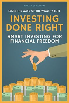 #eBook: Investing Done Right: Smart Investing For Financial Freedom https://www.amazon.com/exec/obidos/ASIN/B06XDGWW29/fnnc-20