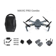 DJI Mavic Pro OcuSync Transmission FPV With 3Axis Gimbal 4K Camera Obstacle Avoidance RC Drone Quadcopter Sale - Banggood.com #DronesQuadcopter #QuadCopter