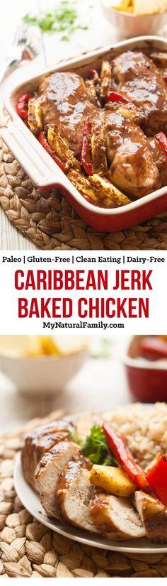 Carribean Jerk Baked Chicken Recipe paleo chicken breast recipes