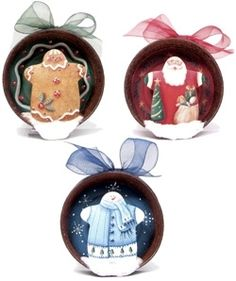 Cupboard Distributing - Holiday Lid Ornaments E-Pattern, $6.50 (http://www.cdwood.com/holiday-lid-ornaments-e-pattern/)