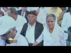 VIDEO: 200 parejas con 50 años de matrimonio renuevan votos ante el Papa en México