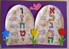 10 Commandments for Shavuot