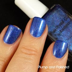 Blue Eyed Girl Lacquer Never Danced Like This Before (Spark In The Dark Collection) #blueeyedgirllacquer #begl #beglove #swatch #indiepolish
