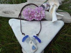 Beautiful hand made Scottish sea glass bracelet by ScottishShores, £11.99