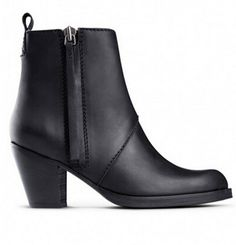 94.05$  Watch here - http://ali2zz.worldwells.pw/go.php?t=32606394120 - women boots New 2016 pistol style genuine leather high heel shoes martin black female motorcycle ankle boots shoes 94.05$