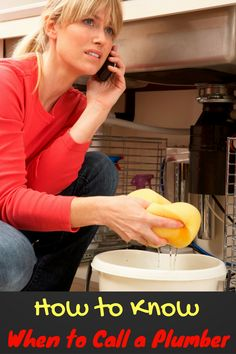 Plumbing: When to Ask for Help! - Mom Does Reviews Household Budget, Plumbing Problems, Ask For Help, How To Know, Mom, Family Budget, Mothers