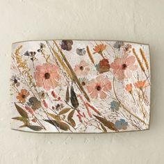 Wildflower Series Rectangle Platter ~ETS #floral #gorgousplate #anthrofave