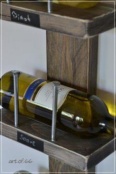 die besten 25 weinregale selbst machen ideen auf pinterest weinregal weinregale und. Black Bedroom Furniture Sets. Home Design Ideas