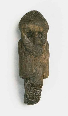 Slavic idol found in Wolin.