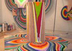 Holton Rower - Tall paintings