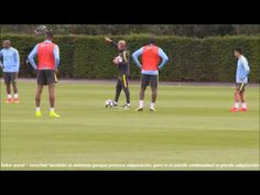 Cómo Entrena Guardiola la Doble Área - YouTube