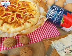 Ricetta Cheesecake salata con filetti di pomodoro gorgonzola e noci | Cirio @ricettedelcuore #foodblogger #pomodoro #ricetta #recipes #tomato #recipe #italianrecipe