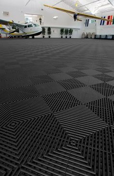 Rubbertrax Swisstrax Recycled Garage Floor Tile | GarageFlooringLLC.com