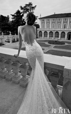 Berta Wedding Dress Collection 2014 (Part 1)I freaking love the back!!!!!