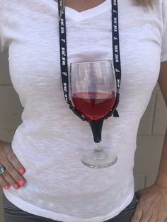 Drink Up Bitches Wine Glass Holder Lanyard – TheBlingThing.com