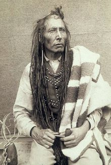 Pîhtokahanapiwiyin (c. 1842 – 4 July 1886), better known as Poundmaker, was a Plains Cree chief known as a peacemaker and defender of his people.