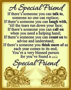 Smile,thank God. Sister Friend Quotes, Special Friend Quotes, Friend Poems, Bff Quotes, Heart Quotes, Best Friend Quotes, People Quotes, Wisdom Quotes, Special Friends