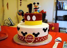 Mickey Mouse cake jessicafarthing