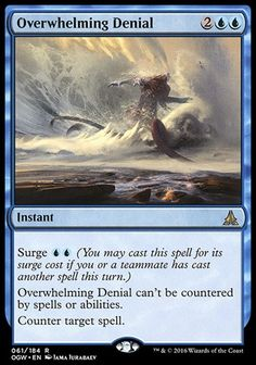 Overwhelming Denial