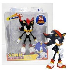 Sonic The Hedgehog Sonic Super Poser Action Figure Shadow
