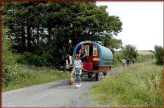 Horse Drawn Caravan Caravan Holiday, Horse Drawn, Caravans, Ireland, Camping, Horses, Campsite, Irish, Horse
