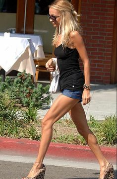 nicole richie... Her body is sick! Muscular like a dancer & so feminine.